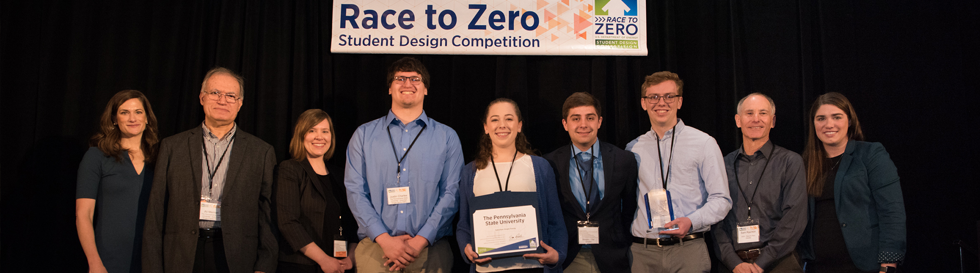 2018 Race to Zero team winning first place