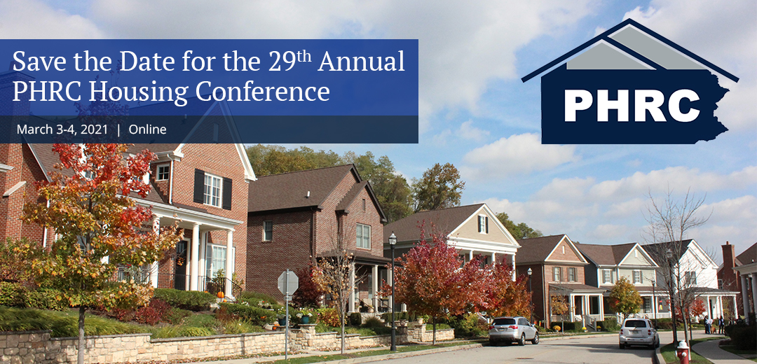 Save the Date for the 29th PHRC Housing Conference