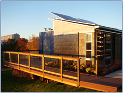 Morningstar solar home exterior view