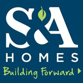 S and A Homes Logo